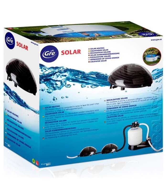 Calentador solar piscinas elevadas gre 90230 for Calentador solar piscina