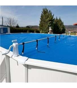 Enrollador de cubierta piscina elevada Gre. 40135