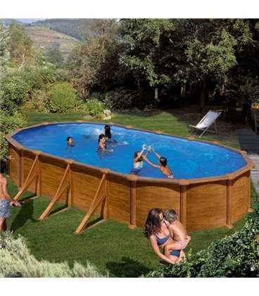 piscina elevada madera 730x375x132 gre kitprov738wo