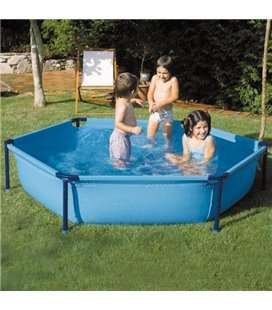 Piscina tubular hexagonal 215x45cm Gre. WET230