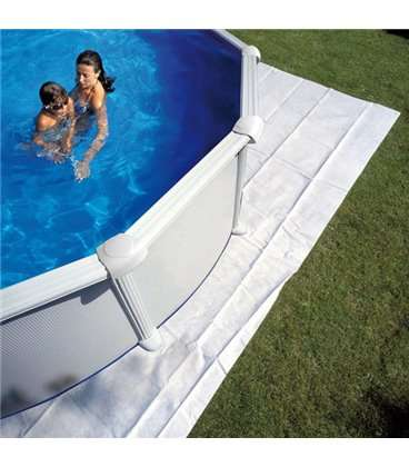 Manta protectora piscina elevada Gre 550x500cm. MPR450