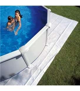 Manta protectora piscina elevada Gre 250x250cm. MPR250