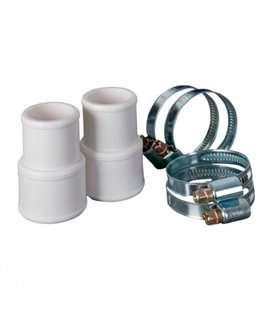 2 conectores 38/32mm + 4 abrazaderas 38/32mm Gre. AR511