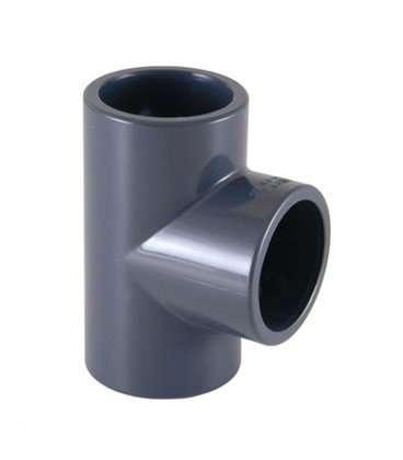 Te PVC Diámetro 50 Cepex. 01784