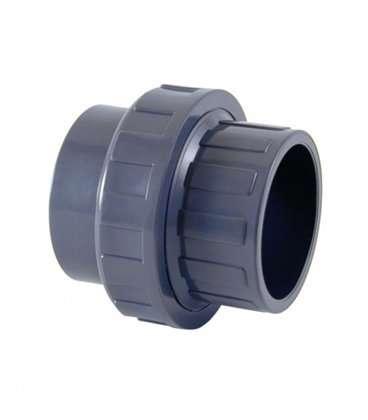 Enlace tres piezas PVC Diámetro 63 Cepex. 02332