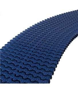 Rejilla transversal rebosadero curvas reversible 335mm azul oscuro Astralpool. 34197CL60