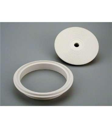 Tapa y aro para skimmer circular Astralpool. 4402010105