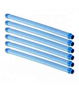 Juego de 6 tubos de 1m Twist Lock. W78055