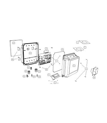 Cuadro eléctrico para focos 300W BSV. PC750