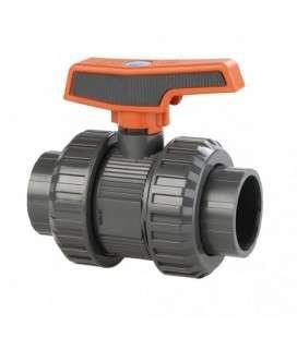 Válvula de bola [STD] PVC-U PE-EPDM encolar D.50 Cepex. 36505