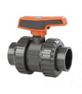 Válvula de bola [STD] PVC-U PE-EPDM encolar D.63 Cepex. 36506