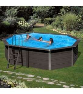 Avantgarde Pool Piscina Composite ovalada 664 x 386 x 124 Gre. KPCOV66