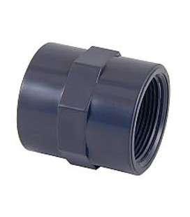 """MANGUITO UNION DOBLE ROSCA PVC roscar D. ¾"""" CEPEX. 01900"""