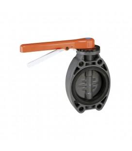 Válvula mariposa PVC-U Estandard Juntas EPDM 110 Cepex. 32616