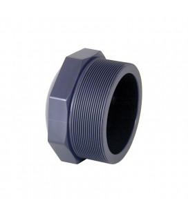 "Tapón PVC rosca macho D. 1½"" Cepex. 02127"