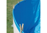 Liner Gre azul rectangular - 730x375cm 75/100. 770399