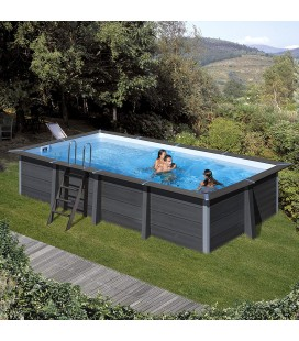 Avantgarde Pool Piscina Composite ovalada 804 x 386 x 124 Gre. KPCOV80