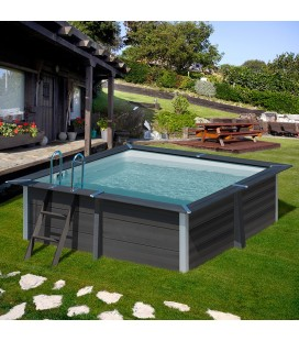 Avantgarde Pool Piscina Composite cuadrada 326 x 326 x 96 Gre. KPCOR28