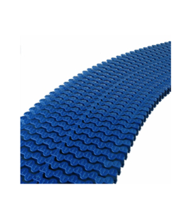 Rejilla transversal rebosadero curvas 245x22 AZUL OSCURO Astralpool. 34191_CL60