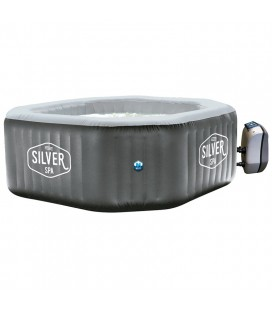 Spa hinchable Silver Poolstar 5-6 personas. SP-SLV155