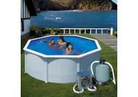 Bomba calor mini piscina elevada 30m3 Gre. HPM30