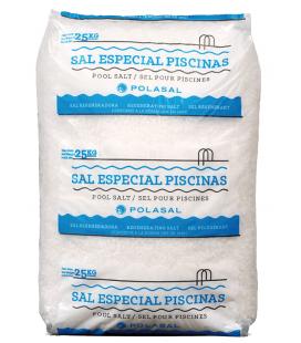 Saco de 25kg de sal para piscina Astralpool. SALIII