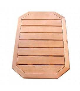 Tarima de madera para ducha exterior. DS-CAILLEBOTIS