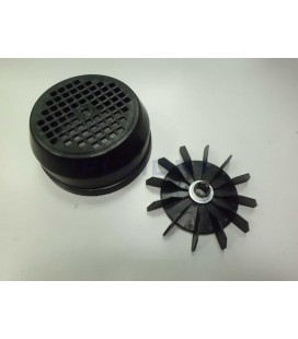 CJTO. VENTILADOR-TAPA 0,75 - 1 HP ASTRALPOOL. 4405010147