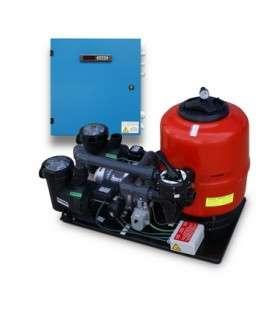 KIT COMPACT - 50 (PARA CASIOPEA, ODISEA, VENECIA) + ELECTROL. DE SAL + CONTROL DE pH