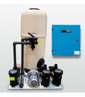 KIT COMPACT - 75(PARA FORMENTERA, COLISEUM, BAHIA) + ELECTROL. SAL + CONTROL pH