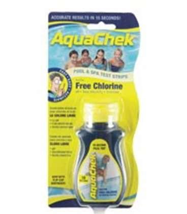 Tiras analíticas de cloro, alcalinidad, pH y cianuro Aquachek Yellow. 11732