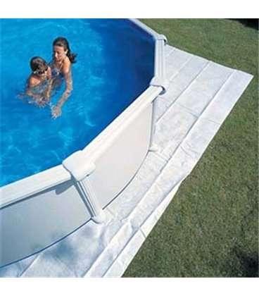 Manta protectora piscina elevada Gre 825x500cm. MPROV810
