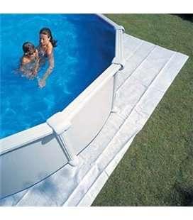 Manta protectora piscina elevada Gre 525x325cm. MPROV500