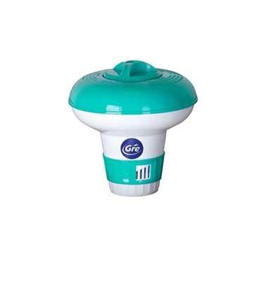 Minidosificador flotante para piscina Gre. 40071