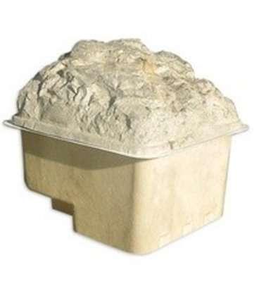 Caseta de filtración enterrada con tapa de piedra Certikin. LTGP6F