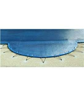Suplemento recorte escalera cobertor Reilu gran resistencia azul