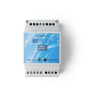 Control pulsador piezoeléctrico con pulsador inox BSV. PCSMA/2