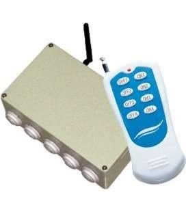 Caja de Radio Control Serie Seacom Kripsol. SCOM6.C