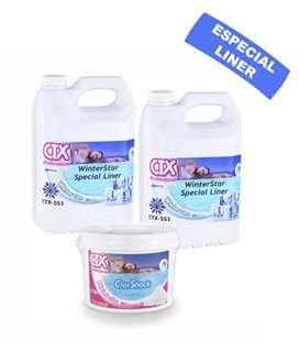 Kit hibernación LINER - Producto químico piscina CTX