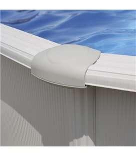Embellecedor blanco para piscina Dreampool Gre. TPL150120P