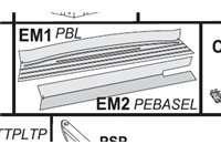 Pieza estampación zona recta EM1 Gre. PBL11252