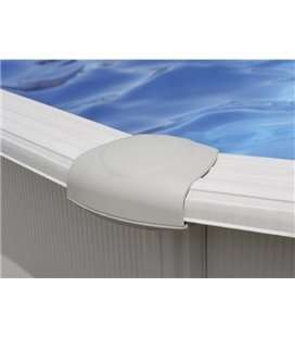 Embellecedor blanco para piscina 1,20m Gre. PIN15P