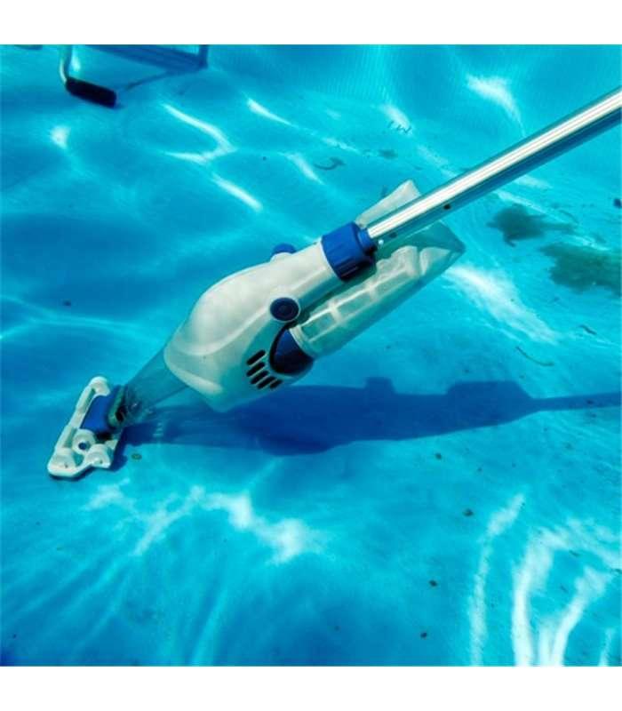 Limpiafondos el ctrico aut nomo con bater a gre vcb10 - Limpiafondos piscina electricos ...