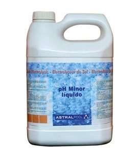 MINORADOR DE pH LÍQUIDO PARA ELECTROLISIS DE SAL 5 L. 40921