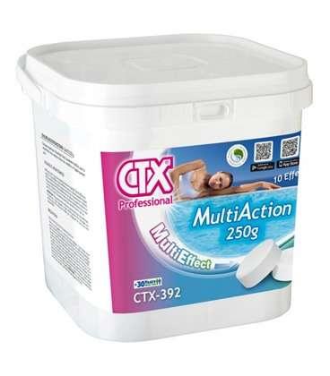 CTX 392. Cloro Multiacción en pastillas de 250gr. de 5kg. 34426