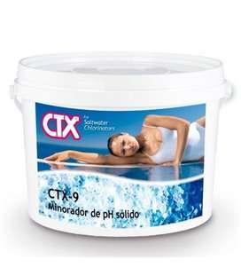 CTX 9. Minorador pH sólido piscinas electrólisis salina 8kg. 40967