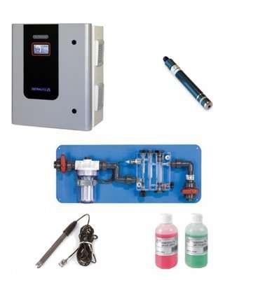 ELECTROLISIS DE SAL PISC. PUBLICA PLUS PH/PPM A-40+ AUTOLIMPIANTE 40 g/h