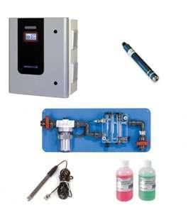 ELECTROLISIS DE SAL PISC. PUBLICA PLUS PH/PPM A-100+ AUTOLIMPIANTE 100 g/h