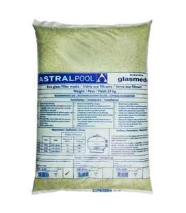 Vidrio filtrante Astralpool de 3-7 mm. 57013