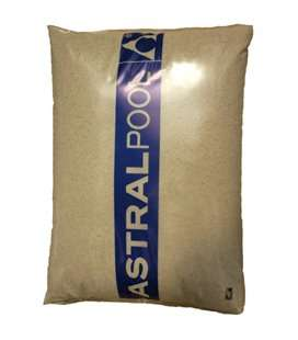 Arena de sílex saco 25 kg Astralpool. 00596